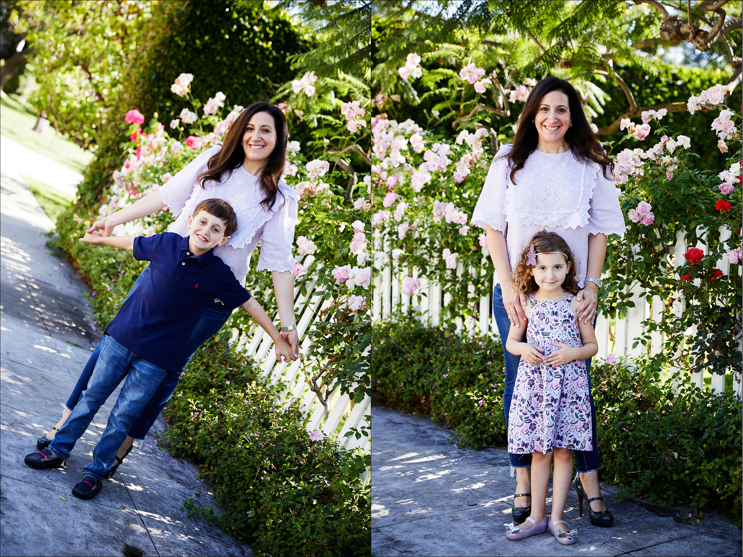 At-home Los Angeles Family and kids photographer professional pictures
