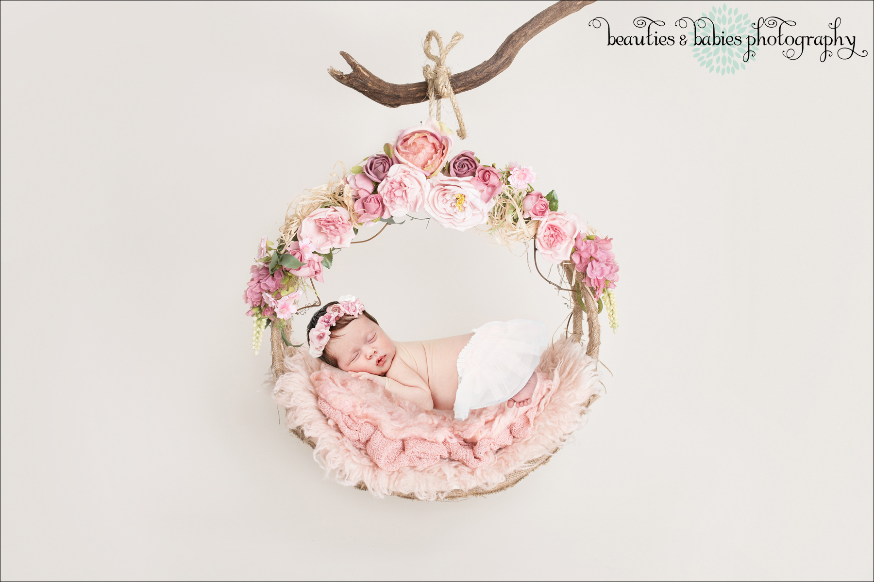 Los Angeles newborn baby family photographer at-home photo shoot