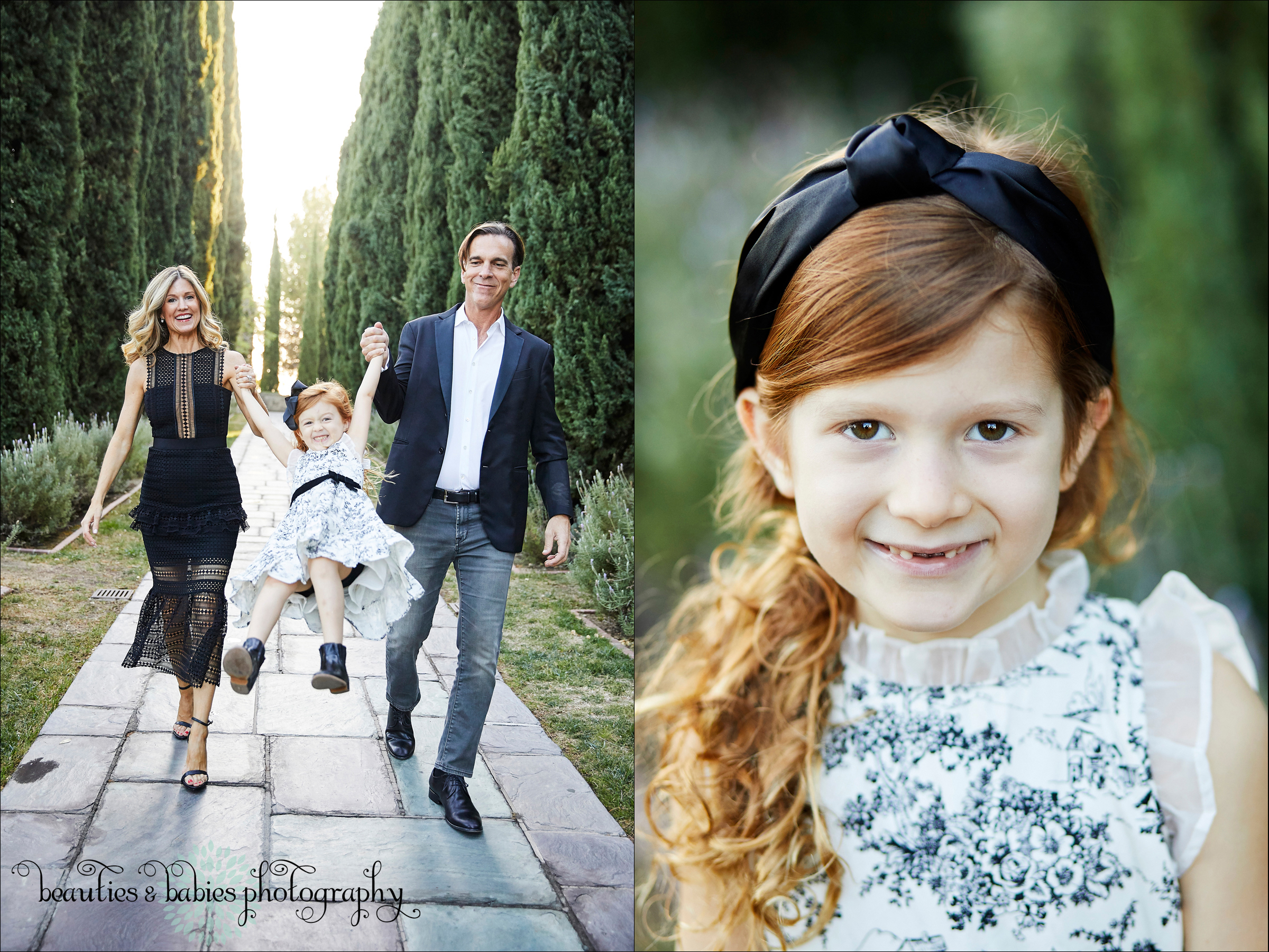 Professional family photographer Los Angeles portrait and lifestyle outdoor photography